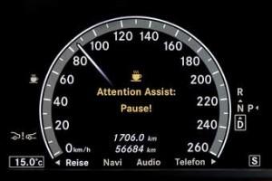 Mercedes E Sınıfı Sürücü Uyandırma Özelliği