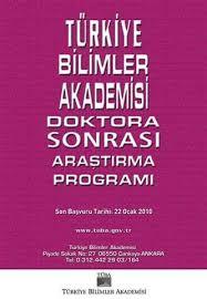 Türkiye Bilimler Akademisi Doktora Sonrası Araştırma Programı