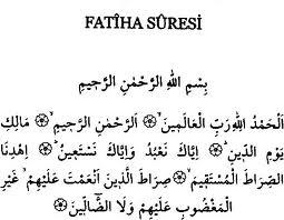 Fâtiha Sûresi