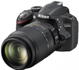 Nikon D3200 DSLR Fotoğraf Makinesi