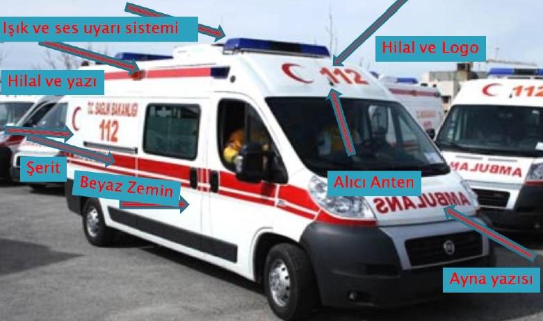 Ambulans Olarak Kullanılacak Araçların Genel Özellikleri