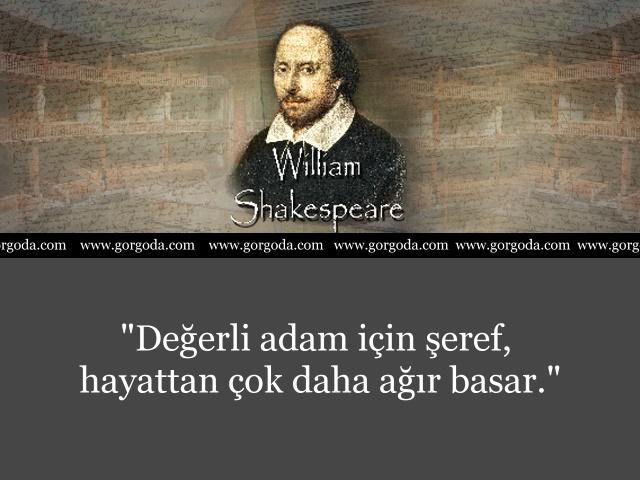 William Shakespeare Söylediği Sözler 10