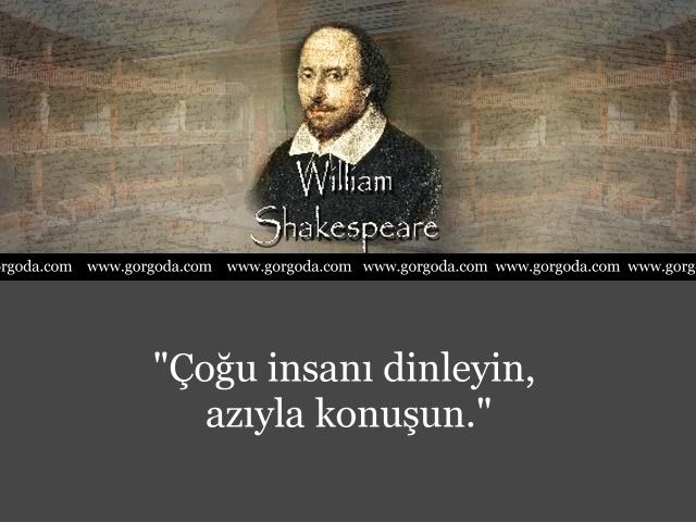 William Shakespeare Söylediği Sözler 11