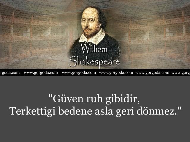 William Shakespeare Söylediği Sözler 4