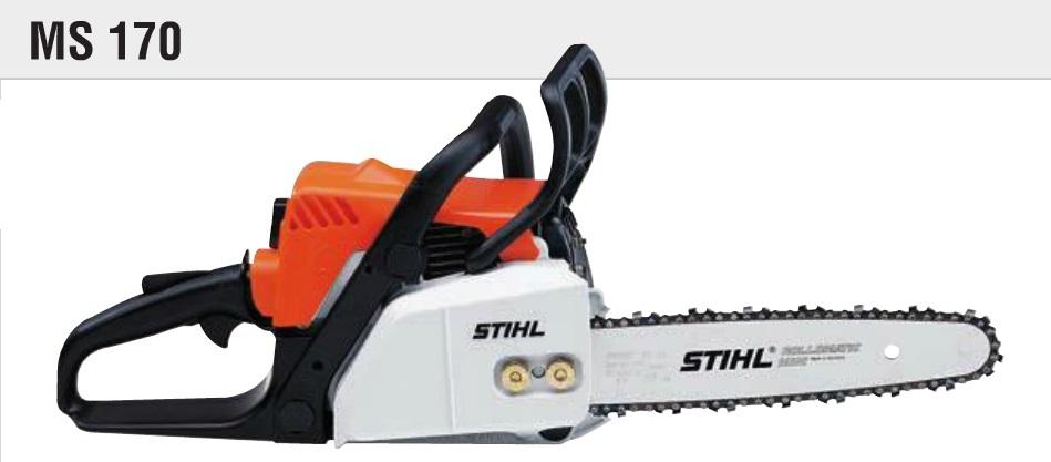 Stihl MS 170 Benzin Motorlu Testere