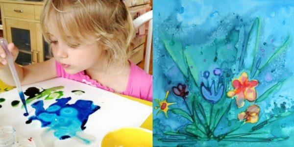 Boya Çalışması Etkinlikleri: Çocuklarda resim yapma ilgisi 2 yaşlarında başlar. Okul öncesi dönemde çocukların farklı malzemelerle yaptıkları resim çalışmaları ile çocuğun yaratıcılığı gelişirken estetik algısı da desteklenmektedir.