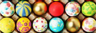 Çocuk yumurta boyama etkinlikleri