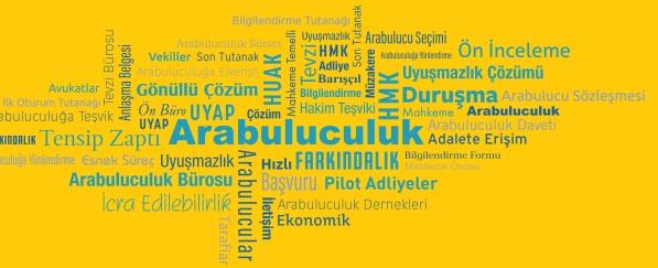 Hukuki Çerçeve Türkiye'de arabuluculuk, 22 Haziran 2012 tarihinde 6325 sayılı Hukuk Uyuşmazlıklarında Arabuluculuk Kanununun (HUAK) Resmi Gazetede yayınlaması ile yürürlüğe girmiştir. İkincil mevzuat olarak 26 Ocak 2013 tarihinde Hukuk Uyuşmazlıklarında Arabuluculuk Kanunu Yönetmeliği (HUAK Yönetmeliği) yayımlanmasıyla da uygulanmaya başlamıştır.