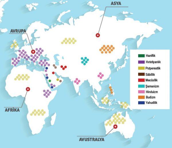 İslam öncesinde dünyanın dinî durumu