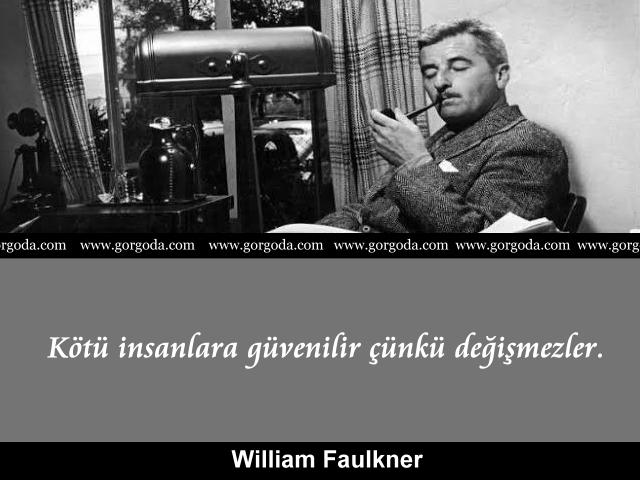William Faulkner özlü söz